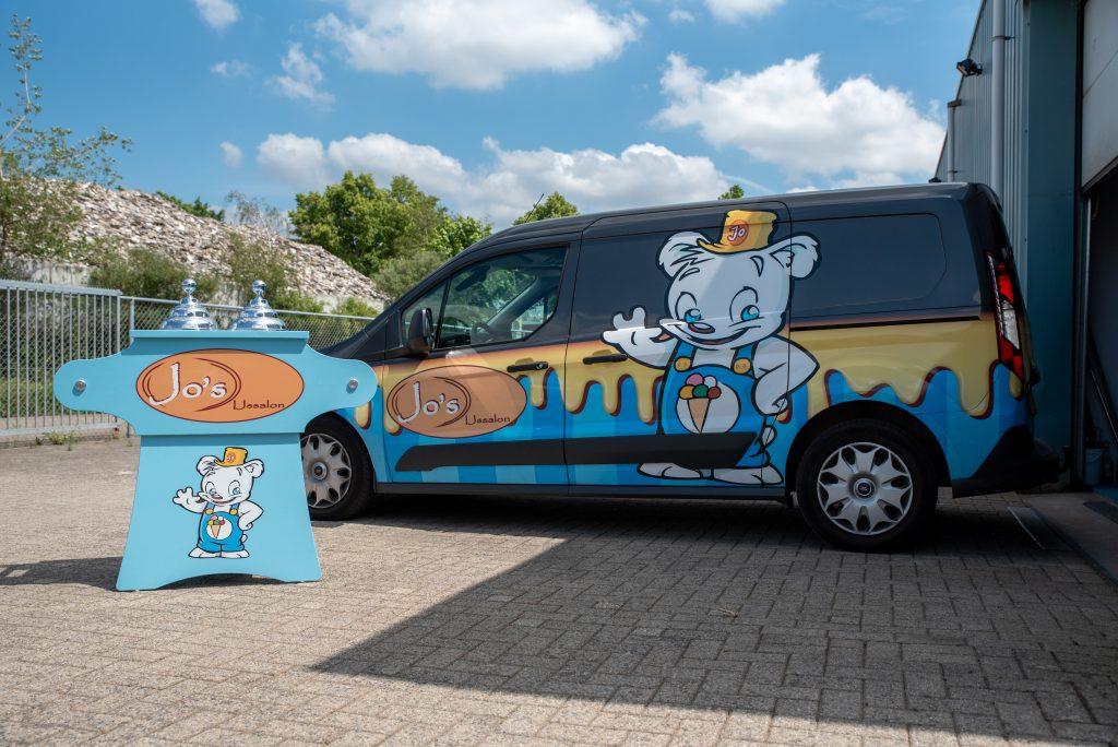 : Jo's IJsbar: ijswagen huren de ideale verrassing voor een feestje! | Jo's IJssalon
