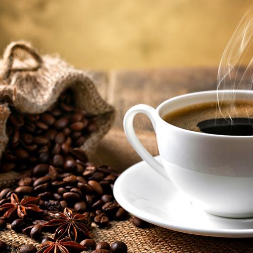 Koffie bij Jo's IJssalon in Reuver